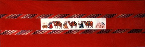 Counted Cross Stitch Three Kings Table Runner