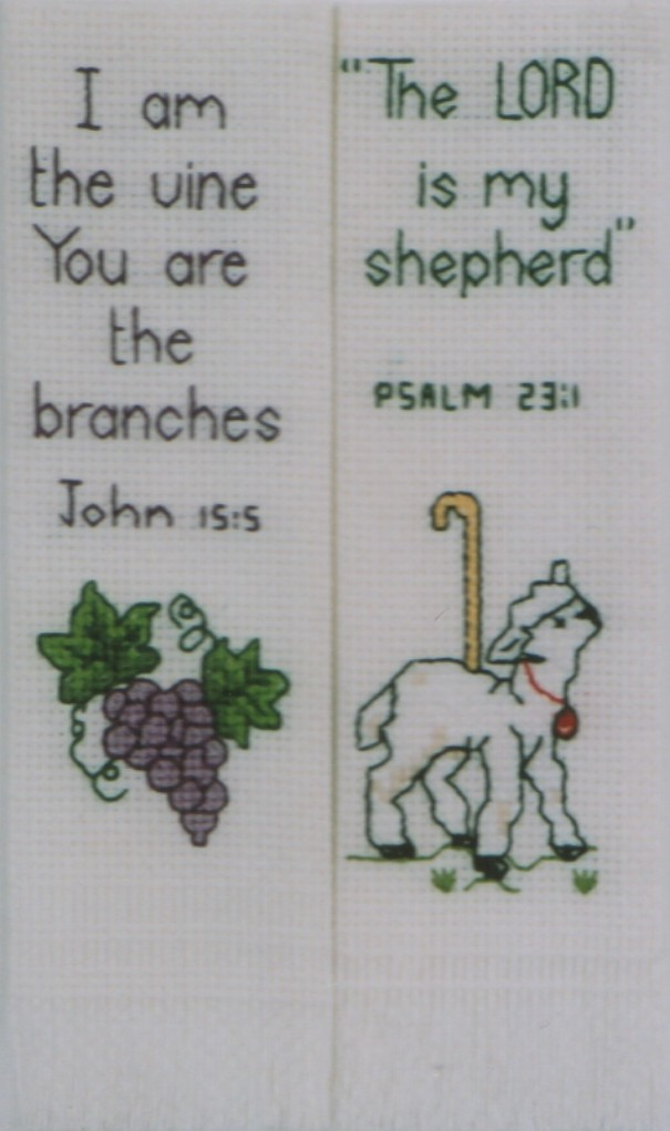 Book Marks with Biblical Verses
